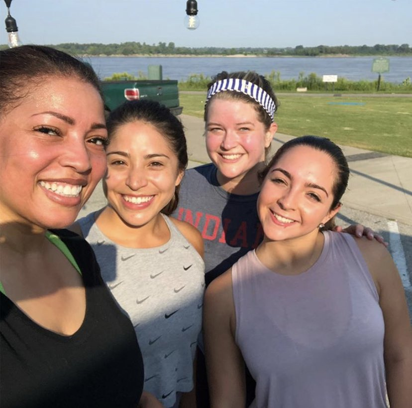 My 2nd bootcamp along the river was a success thanks to these amazing athletes💪🏽 hill sprints, squats, push-ups...you name it, they did it! @Kontji @KellyRobNews @ALorenzoFOX13 I have more classes this month. Reserve your spot🙌🏽🙌🏽 let's workout together!
