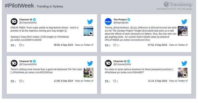 PilotWeek In News: The Most Popular Tweets | Australia