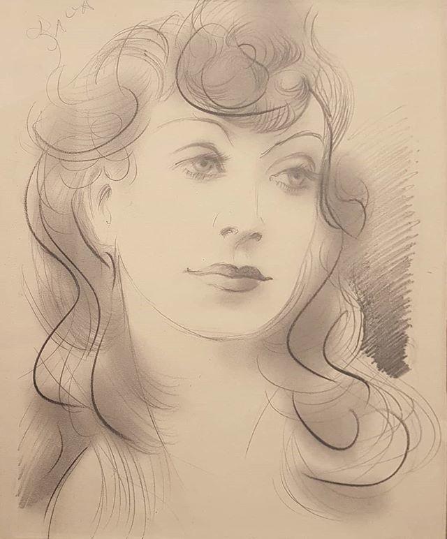 #GiacomoBalla #PortraitOfYoungWoman #ElicaBalla #drawing #PencilOnPaper #EsterMerloni  #PinacotecaFabriano https://t.co/EX3ShcI1PH