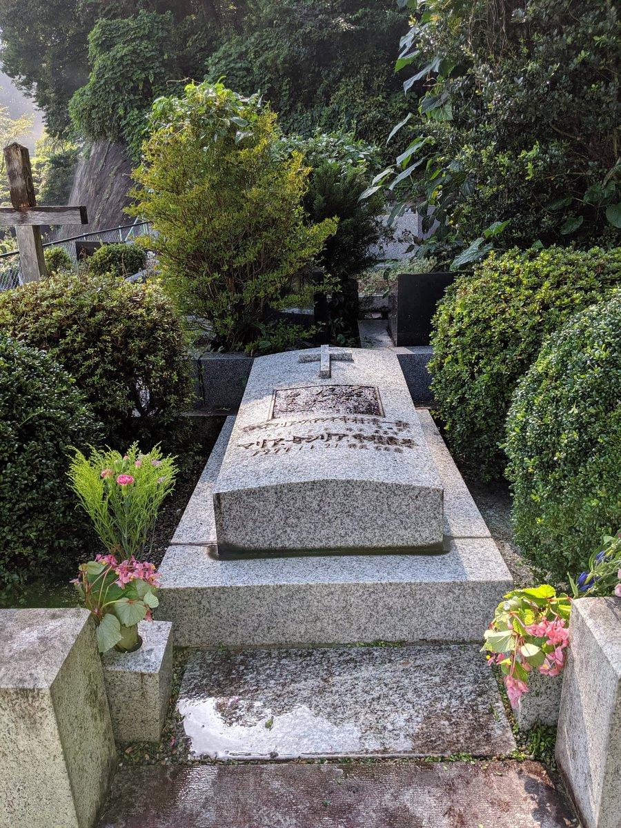 実は先日、一人で草田男先生のお墓に行ってまいりました。いろいろご報告してきました。周りに誰もいなくて、ゆっくりお話できたよ。