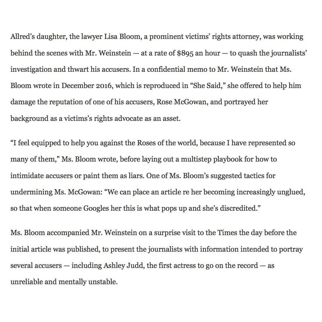 Feminist Attorney Lisa Bloom Offered To Help Harvey Weinstein Smear Accusers, New Book Alleges