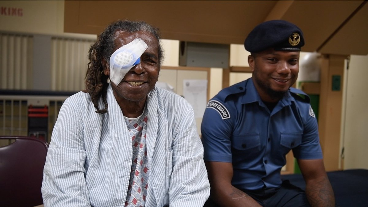 Kudos to the #TTDF. Patient Mr. Lewis's escort was unable to accompany him to the #USNSComfort ship for surgery & the #TTDF ensured he didn't miss his slot by sending a sailor with him. #partnerships #usttrelations #YearoftheCaribbean<br>http://pic.twitter.com/418PNbN460