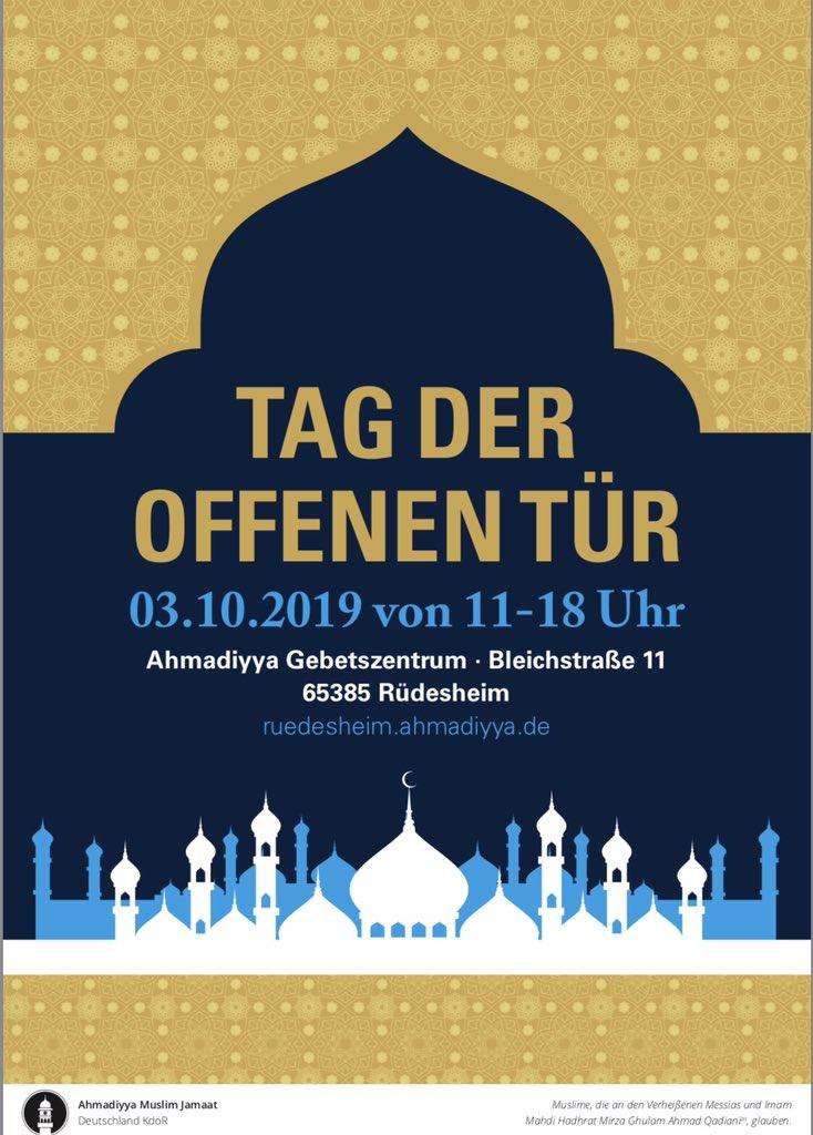 Über #Islam wird in Der #Gesellschaft viel diskutiert, und oft fehlerhaft. Die Gesellschaft brauche mehr grundlegendes #Islamwissen. #Muslime aus #Rheingau liegt es sehr am Herzen, mit Mitmenschen ins Gespräch zu kommen, um Hemmschwellen und #Missverständnisse abzubauen.pic.twitter.com/VF4WIwr2WO