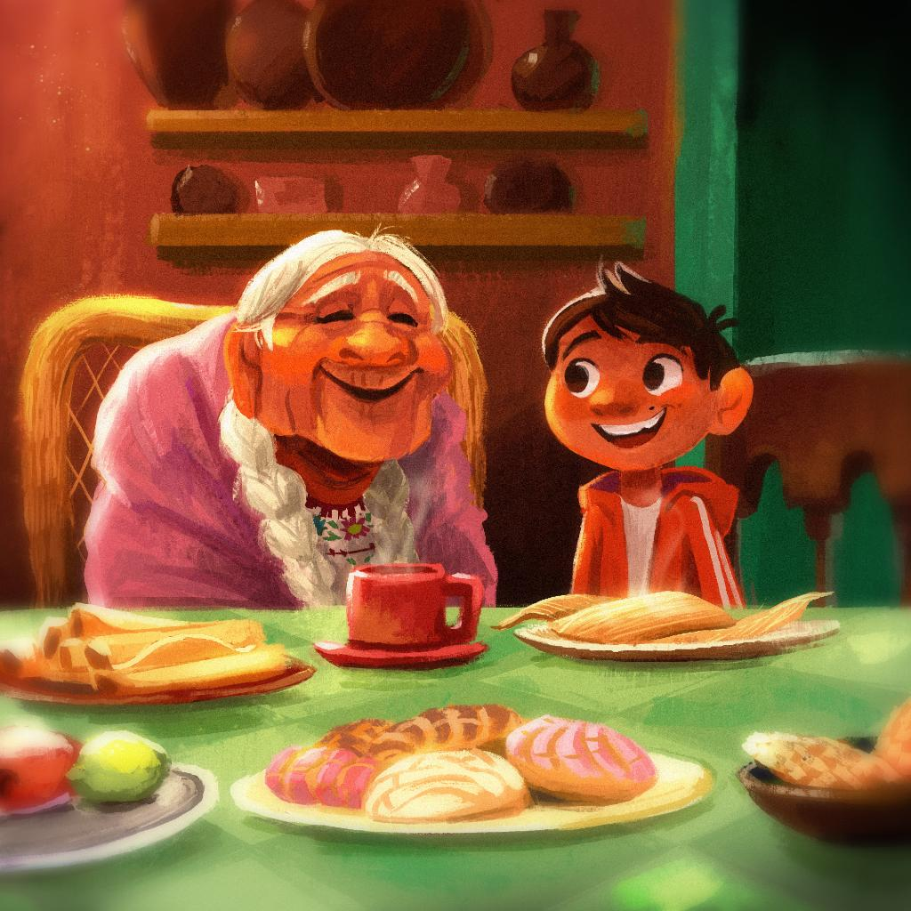 """That's my Mamá Coco."" #GrandparentsDay"