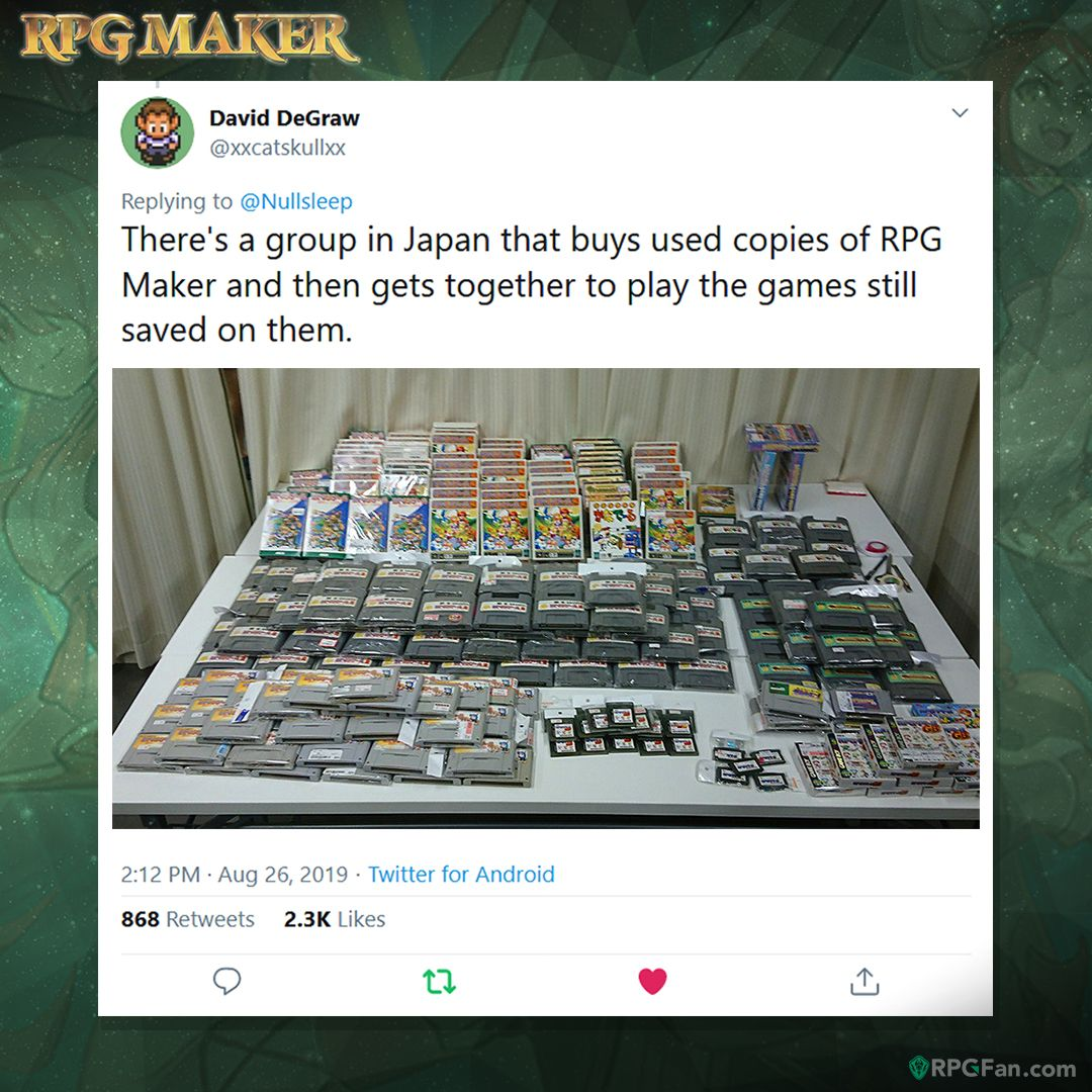 rpgmaker hashtag on Twitter