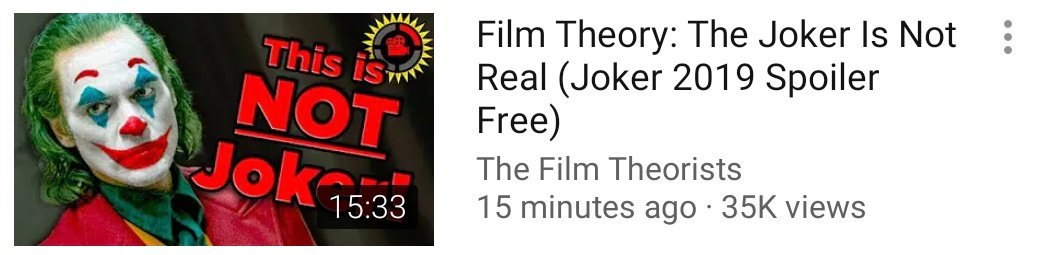Game Scary Rejects On Twitter Film Theory The Joker Is