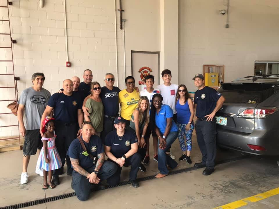 We had a very productive day today. Starting with an early meeting with some dedicated volunteers followed by loading and delivering supplies to one of the Miramar Fire Stations (Station 19) for our brothers and sisters in the Bahamas impacted by Dorian. A sincere thanks to all!