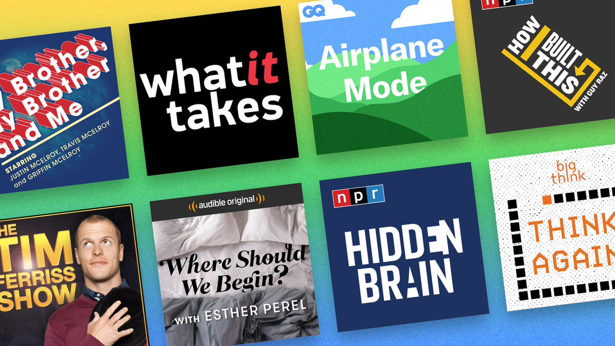 10 podcasts that'll actually improve your life gq.mn/EvJQYWR