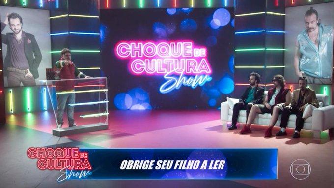 #ChoqueNaGlobo Foto