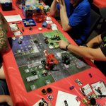 Image for the Tweet beginning: The HeroClix Skirmish event in