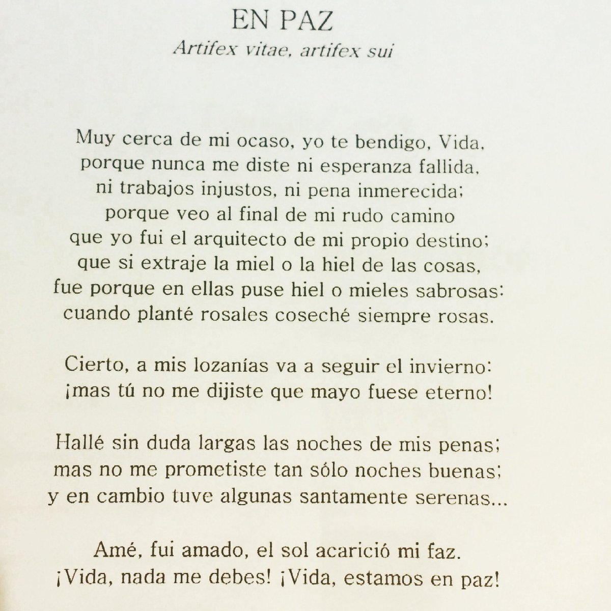 Poetas Hispanos On Twitter Leamos Uno De Los Mejores