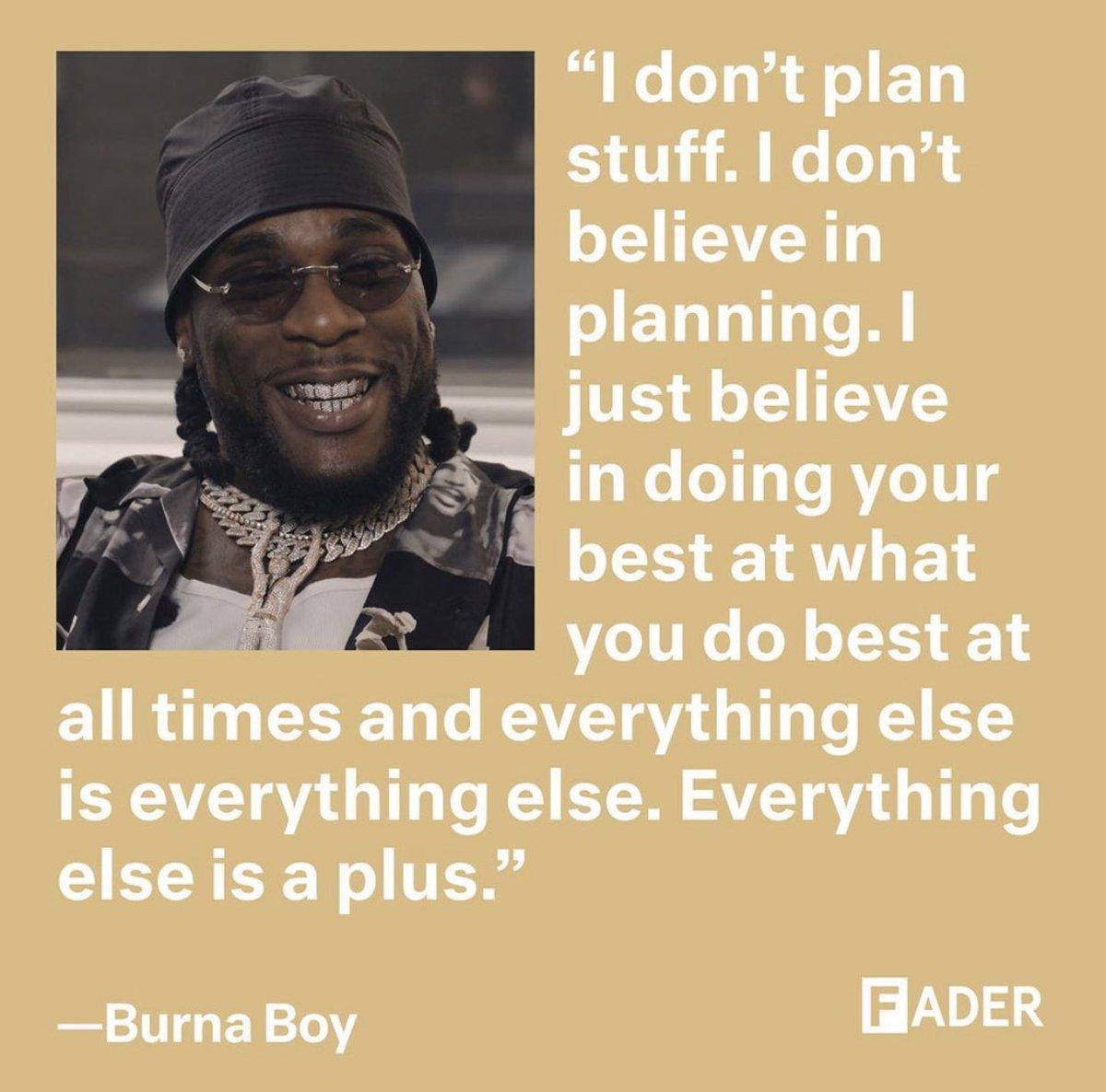 Burna Boy on Twitter: