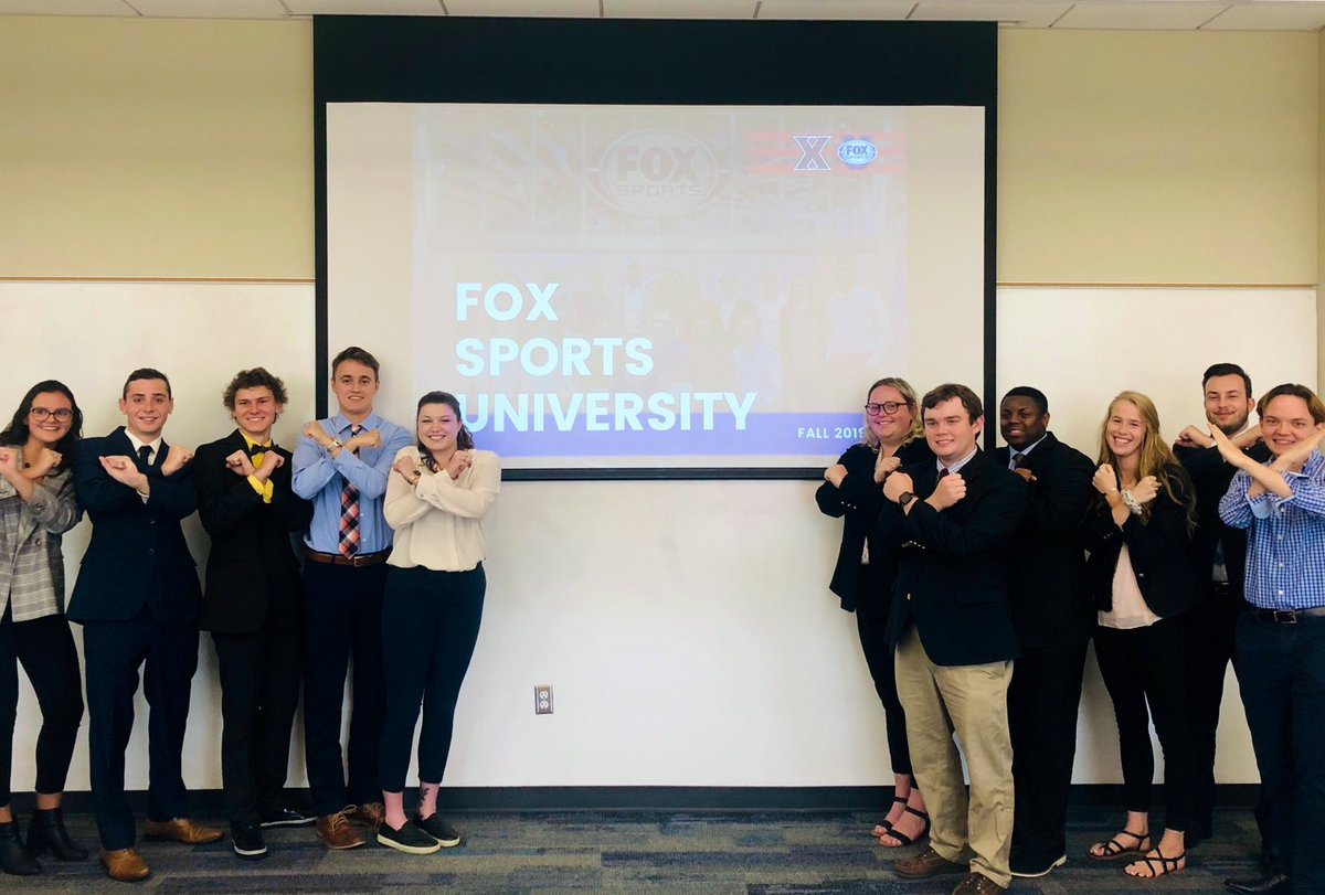 WE BACK! What a great start to the fall semester with our class at @XavierU 🙅♀️🙅♂️ https://t.co/k8kZoZhCOp