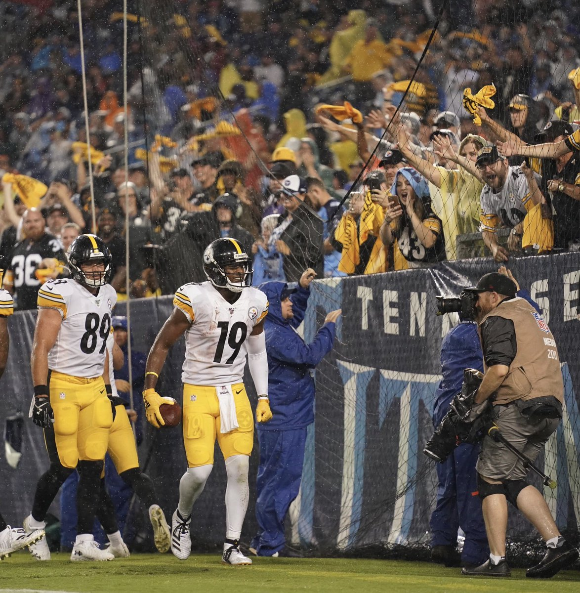 No such thing as a road game when you're a Pittsburgh Steeler