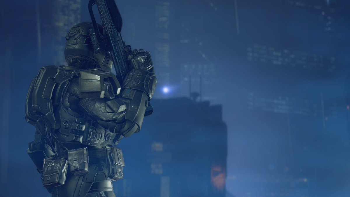 Nuvelous On Twitter Odst Landfall Halo 5 Shots