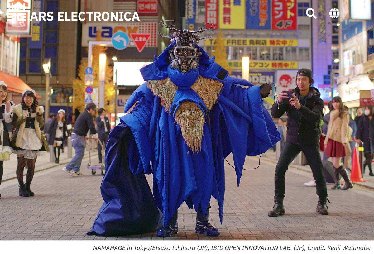 世界最高峰のメディアアートの祭典アルスエレクトロニカで今年も展示します!今回はイノラボと制作した「都市のナマハゲ - Namahage in Tokyo」を初めて海外でお披露目。ナマハゲに扮して現地でパフォーマンスし、次回作・仮想通貨奉納祭のチラシもばらまいてきます……?
