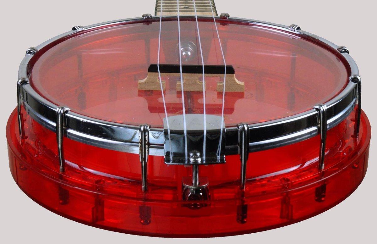 gold tone little gem ruby concert banjolele banjo at ukulele corner
