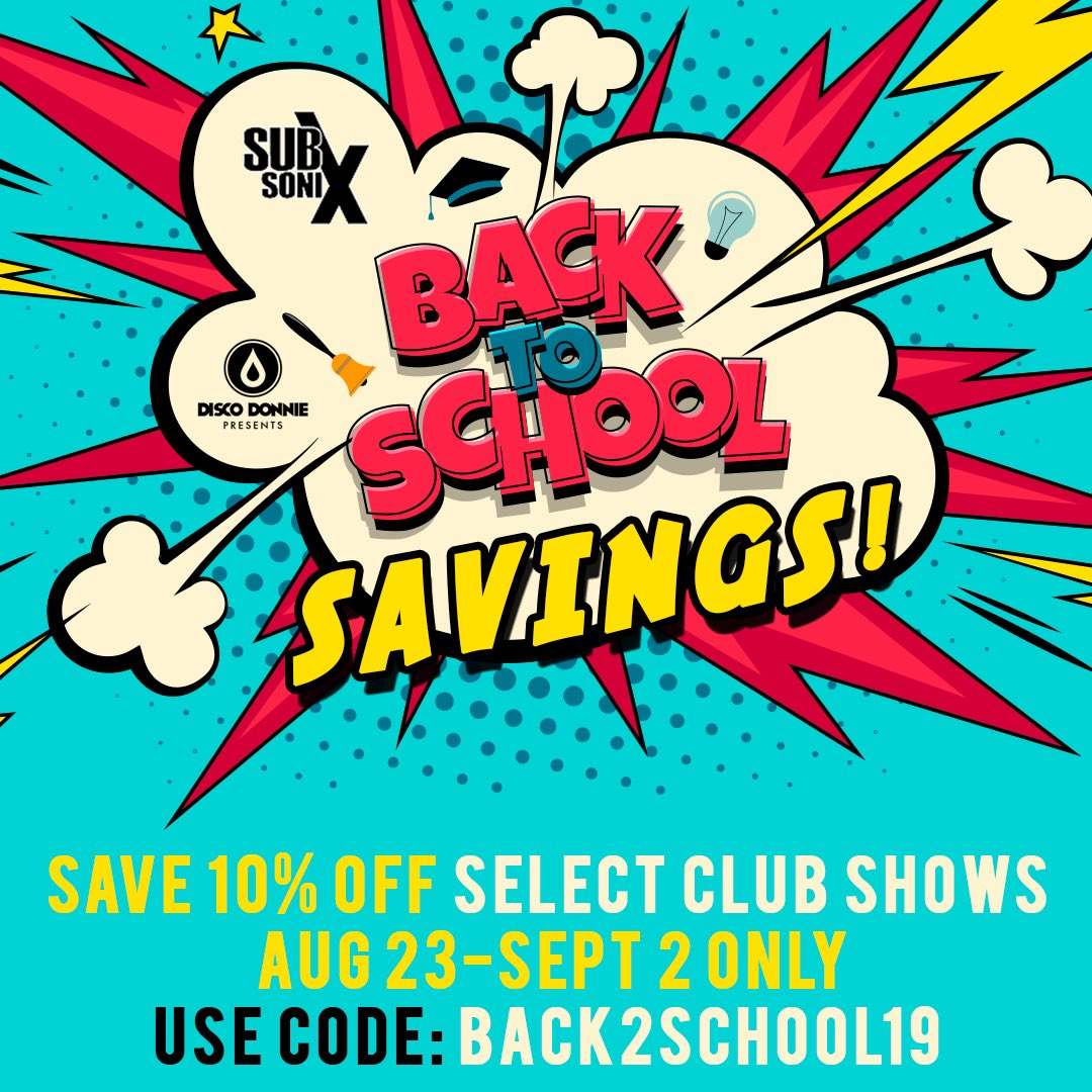 Subsonix On Twitter Need Some Back To School Savings Save