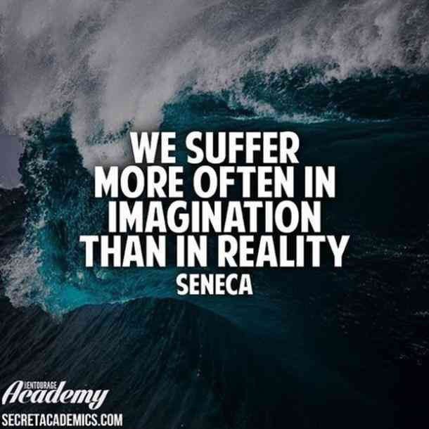 It's crazy how overthinking can put so much #fear into is. #staystrong