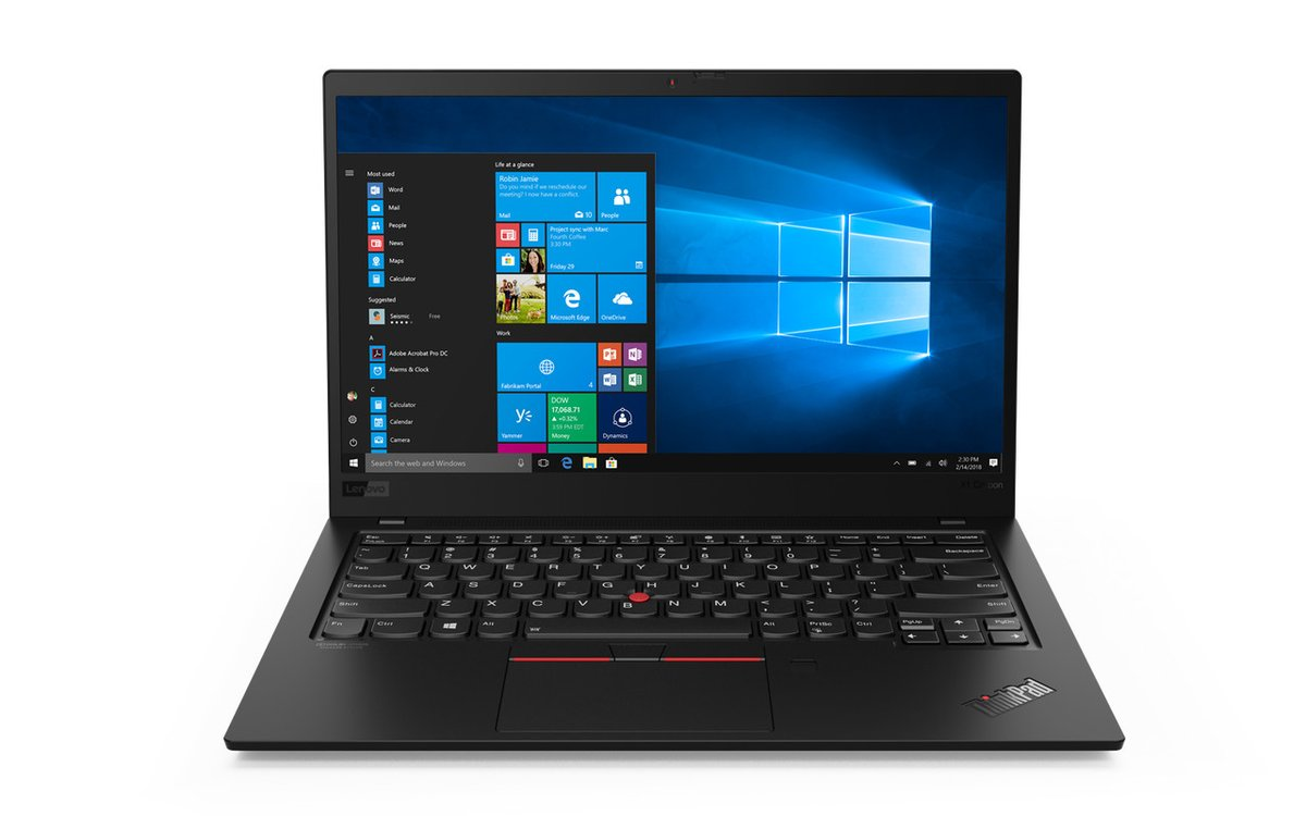 Lenovo's ThinkPad X1 Carbon and X1 Yoga are getting Intel's latest 10th Gen chips
