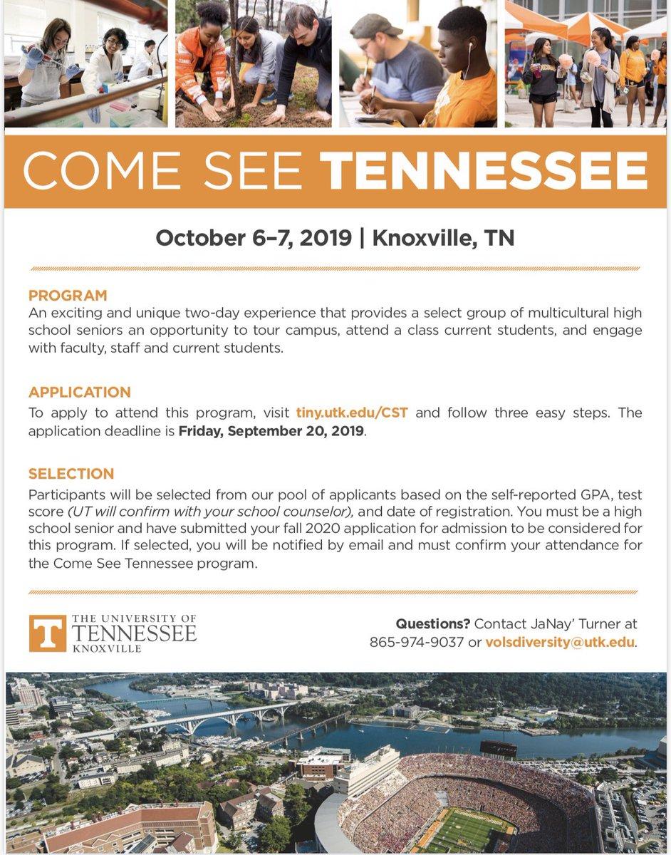 University Of Tennessee Admissions >> Ut Admissions Ut Admissions Twitter