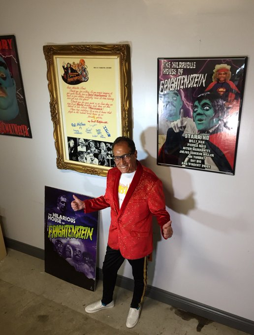 Happy Birthday to Alex Lifeson from all of your Hilarious House of Frightenstein fans!!!