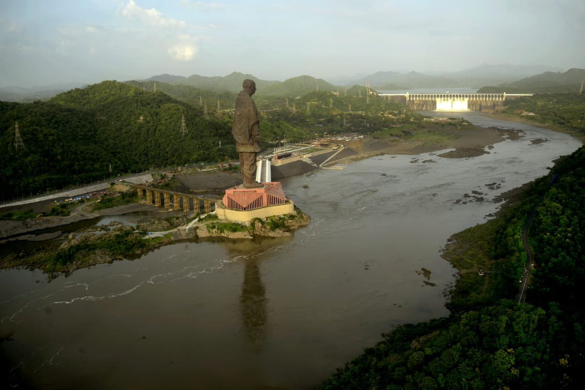 Excellent news that 'Statue of Unity finds spot in Time Magazin's 100 greatest places 2019 list: PM