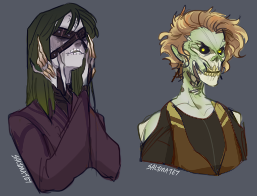 Some undead for @Vynlovan and @geist_bag that they made for classic #forsaken #worldofwarcraft