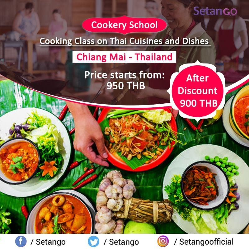 Learn Cooking Skill of Delicious Dishes on Thai Cuisines from Local Chefs of Chiang Mai Cookery School and Bring Home Unique Memories... #cookingtips #amezingthailand #Cooking