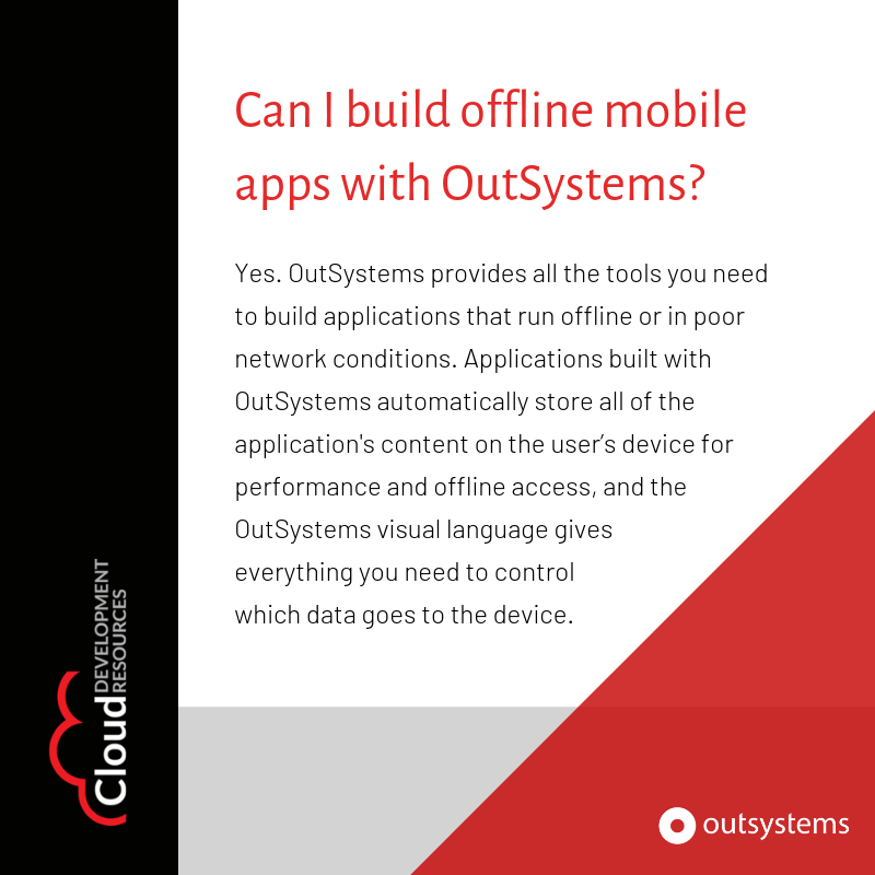 outsystems hashtag on Twitter