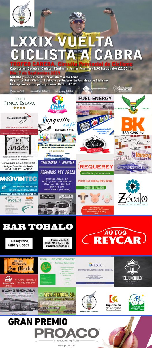Andalucia Ciclismo Calendario.F Andaluza Ciclismo On Twitter Vuelve La Emocion Al