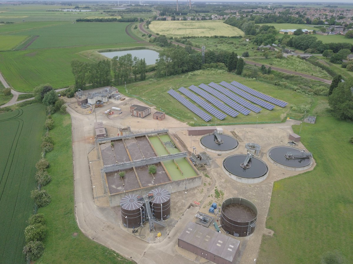 test Twitter Media - A great shot of the 248.4 kWp solar array at @AnglianWater Whittlesey WRC which is meeting up to 27.54% of the sewage treatment facility's energy consumption.   Developed and constructed by @HBS__Group under a 30MWp solar PPA programme in partnership with Anglian Water. https://t.co/fbHguqShZc