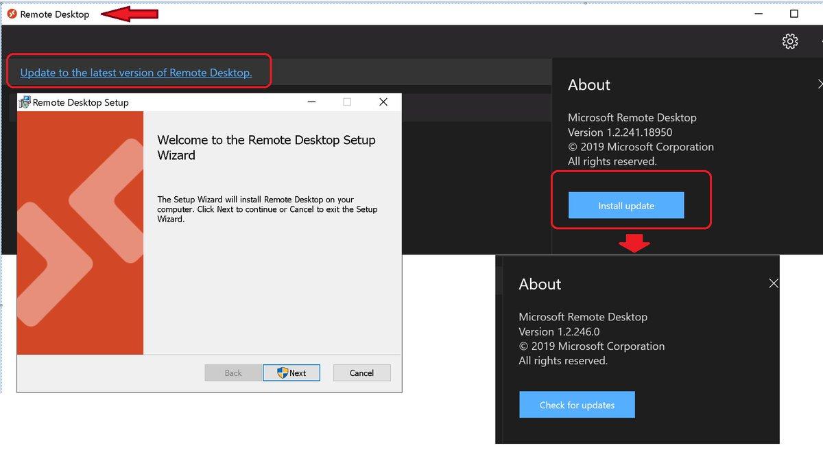 Microsoft Remote Desktop - 1.2.246.0 - WVD Remote Desktop Resource