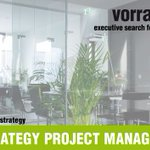 Image for the Tweet beginning: DIGITAL STRATEGY PROJECT MANAGER (w/m/x)