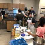 Image for the Tweet beginning: Our Culinary Arts students learn