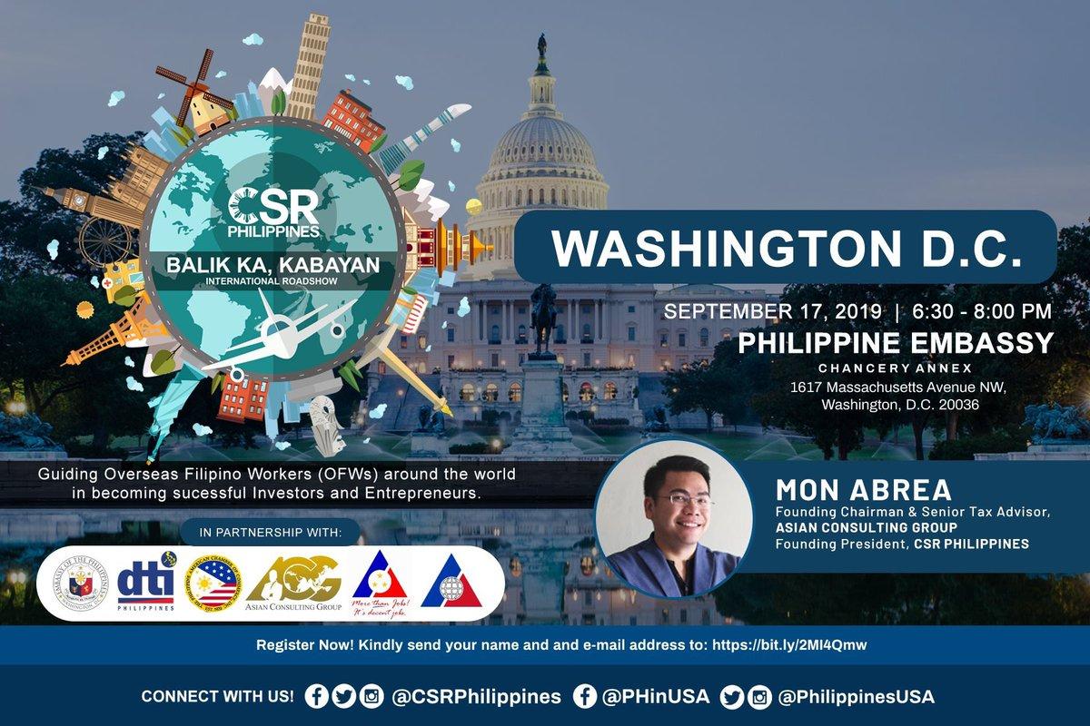 Philippine Embassy in the USA (@philippinesusa) | Twitter