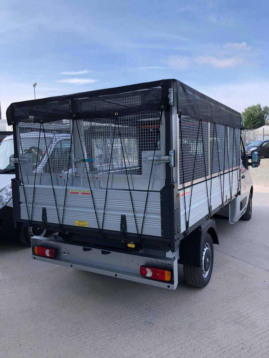test Twitter Media - More Vauxhall Movanos for @PentagonDG  & @HydeHousing  Modifications by MW Hull: ☑️Lightweight cage bodies with barn doors  ☑️Net roof  ☑️Axtec on board weigh system  ☑️Parking sensors   #CageBodies #NetRoof #Axtec #WeighSystem #MWHull https://t.co/o3CckS2YZM