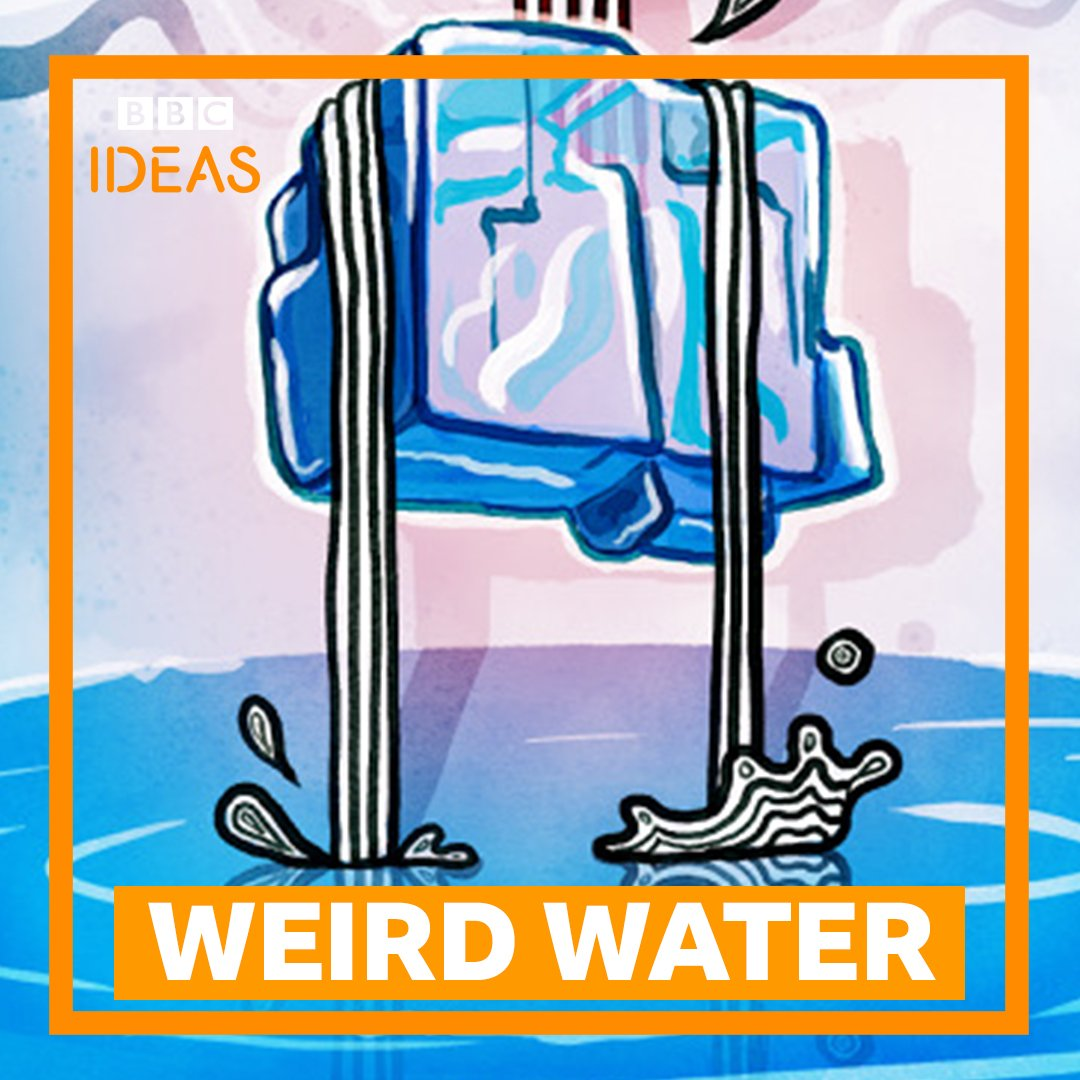 Water is the strangest thing in the universe