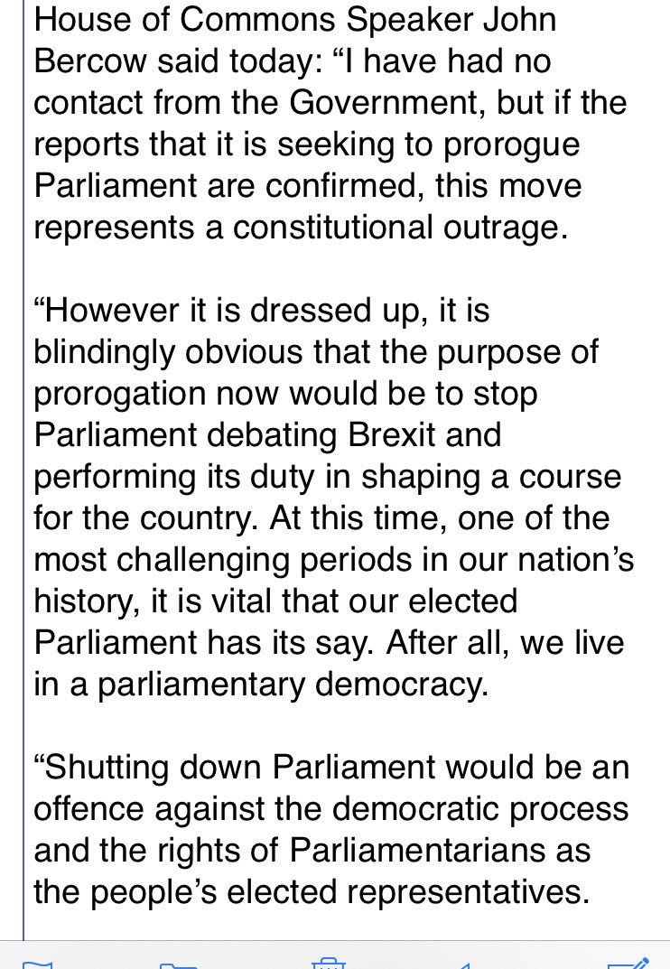 Suspension of parliament: MPs react with fury and Davidson