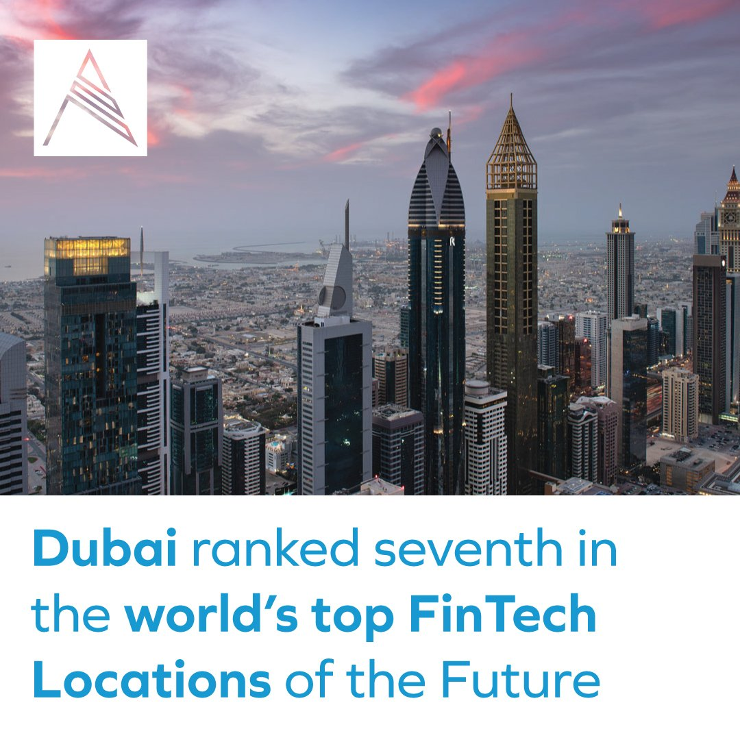 Dubai ranked seventh in the world's top FinTech Locations of the Future. #AQUAProperties #RealEstate #DubaiRealEstate #DubaiEconomy #Top10 #MyDubai #UAE https://t.co/QRqvXiazig https://t.co/3DJNmITbx2