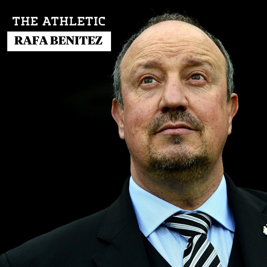 🕛 An hour to go!  Former Valencia, Liverpool, Inter, Chelsea, Napoli, Real Madrid and Newcastle boss @rafabenitezweb answers your questions.  Submit your questions here ⬇️  http://theathletic.com/1164949/?source=twitterhq…