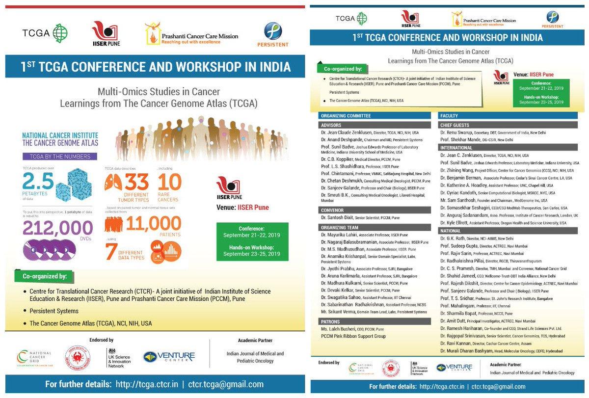 TCGA India Conference (@TCGAIndia)   Twitter