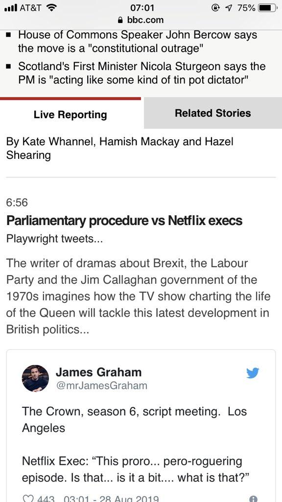 James Graham on Twitter: