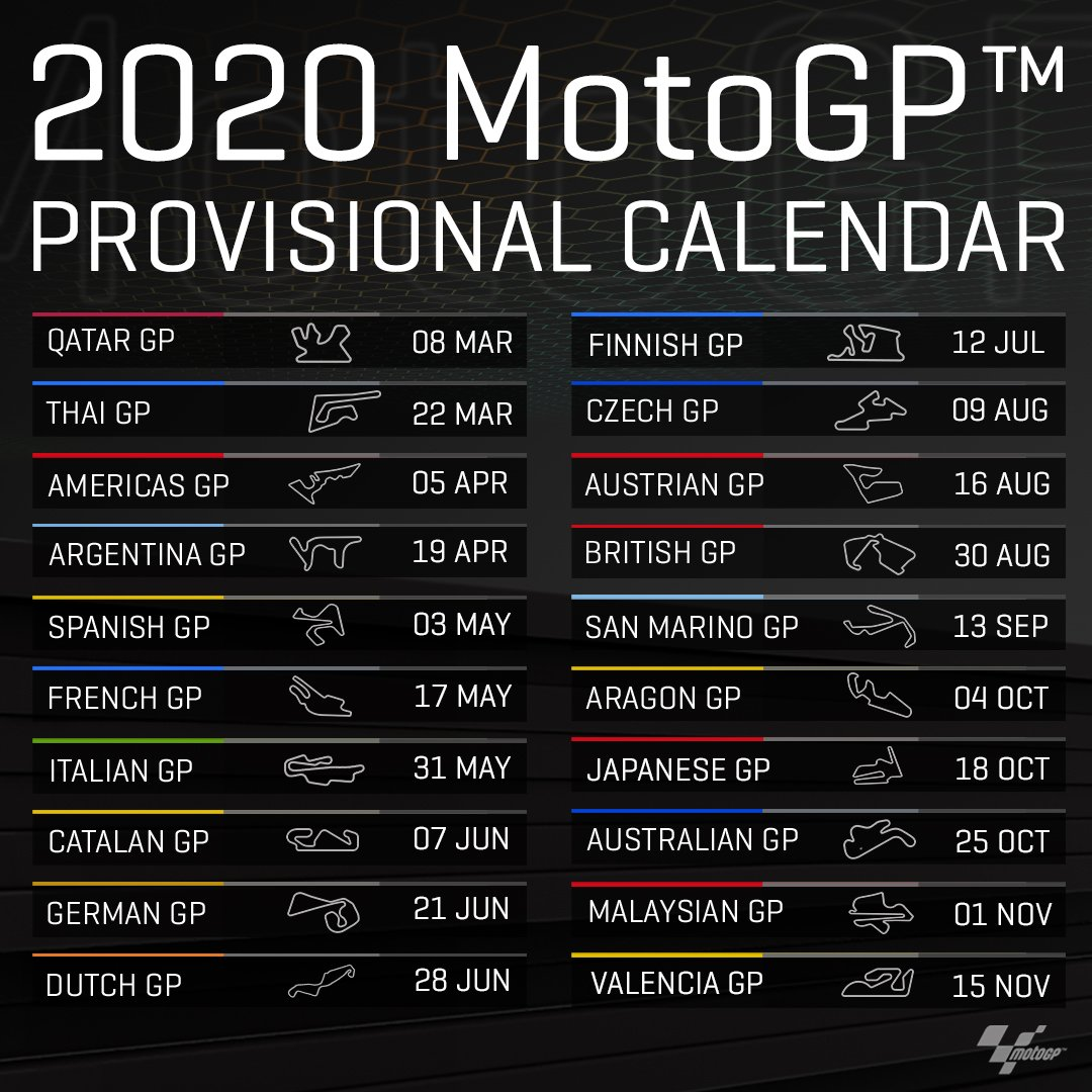 Motogp Calendario 2020.Finnishgp Hashtag On Twitter