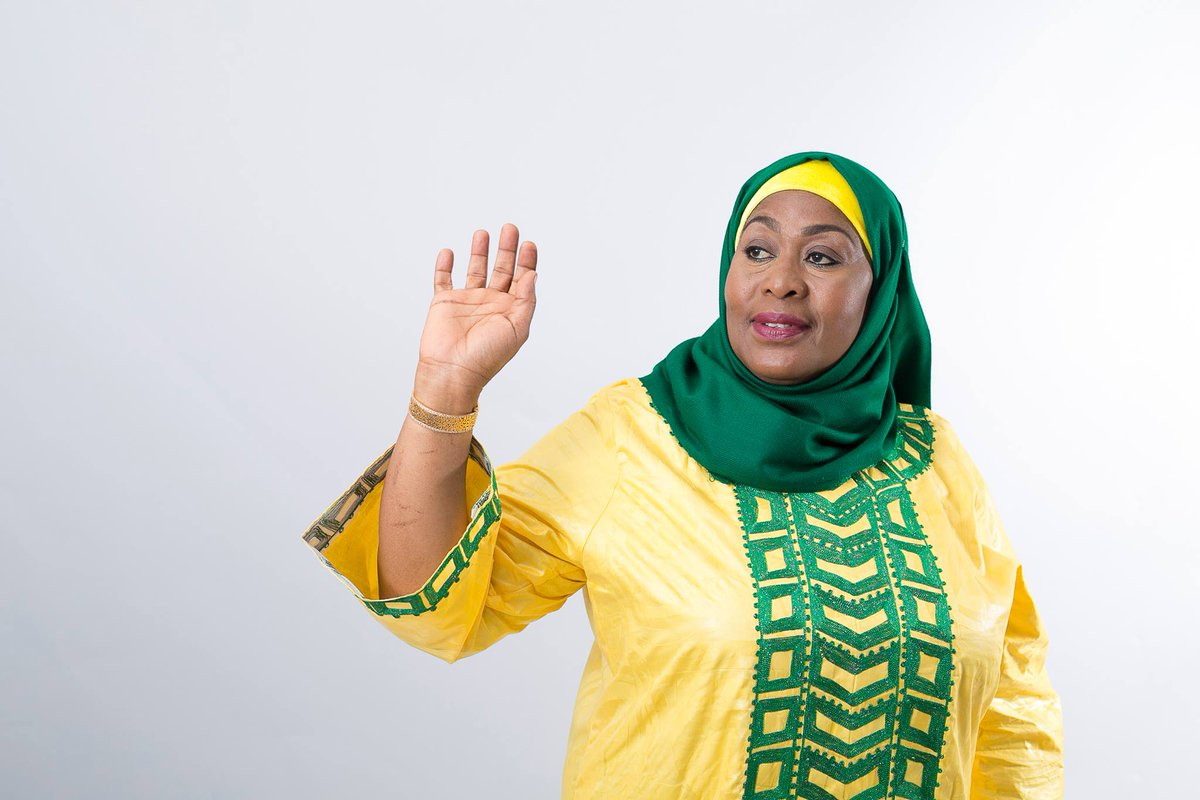 """The Citizen Tanzania on Twitter: """"Vice President Samia Suluhu has ruled out  seeking the Zanzibar presidency in next year's General Election. Ms Hassan  said she has no intention whatsoever to succeed President"""