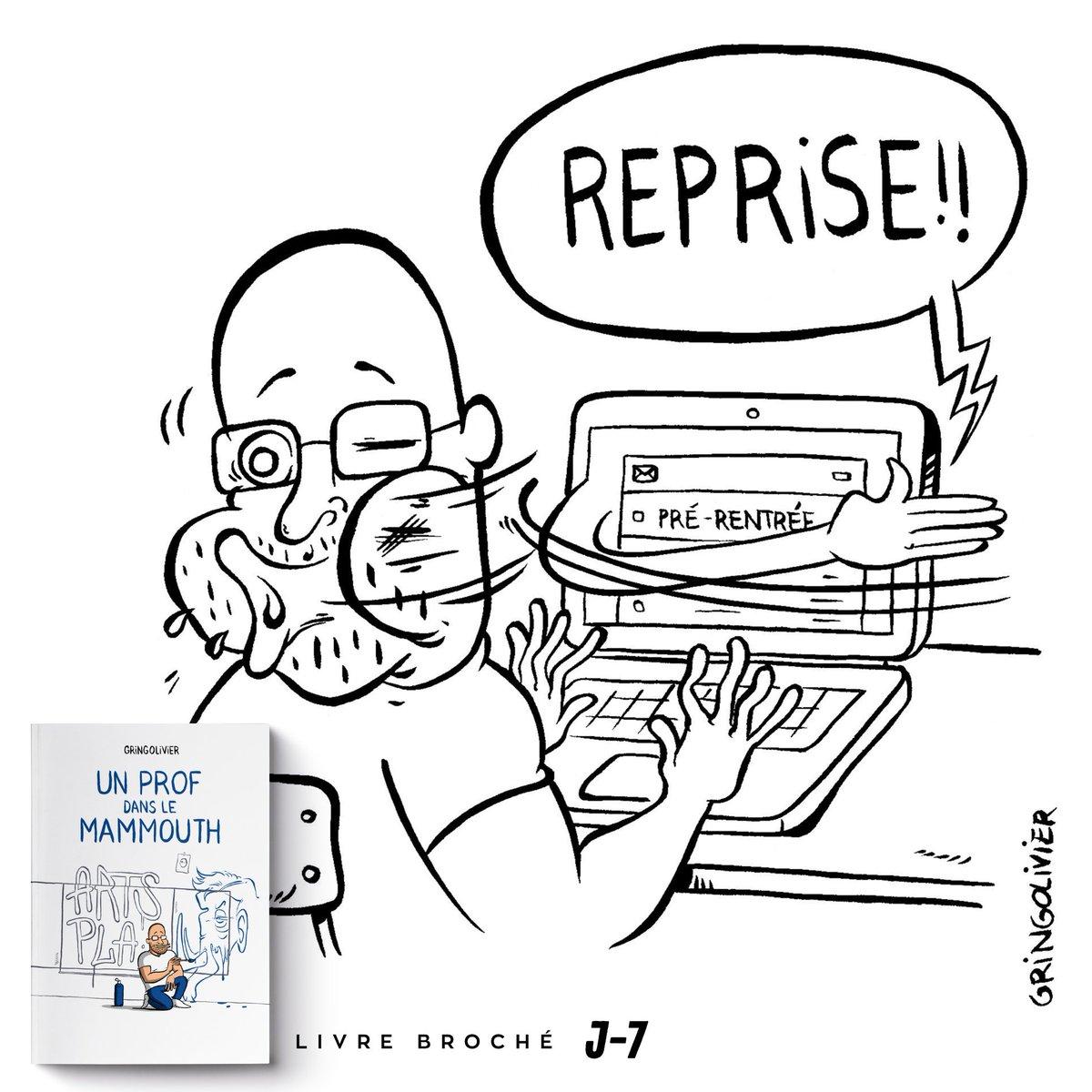 Un Prof Dans Le Mammouth Auf Twitter Reprise Prof Mail Dessin