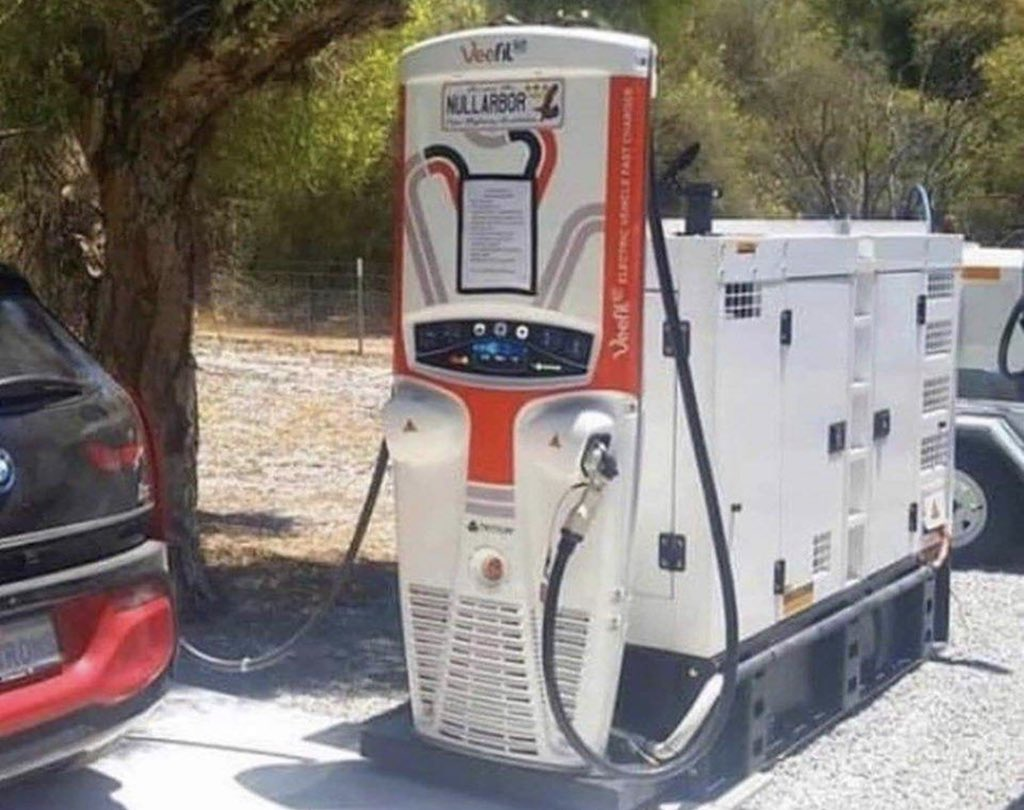 Image result for ev charger nullarbor