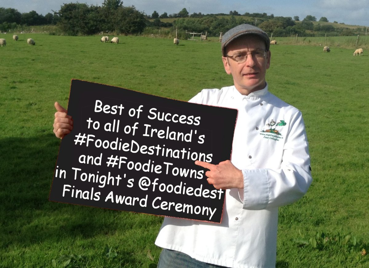 Best of Success to all of Ireland's #FoodieDestinations and #FoodieTowns in Tonight's @foodiedest Finals Award Ceremony, including @mea_bc @TasteCauseway @tasteofcavan @Donegal_food @GalwayERG @tasteofmonaghan @Waterford_Way @DonegalFood @tastekerry1 https://t.co/7YpeclPYn5