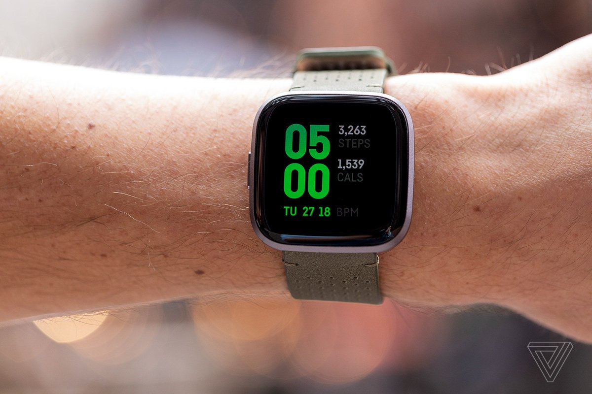 Fitbit's new Versa 2 has an OLED screen and Alexa voice support