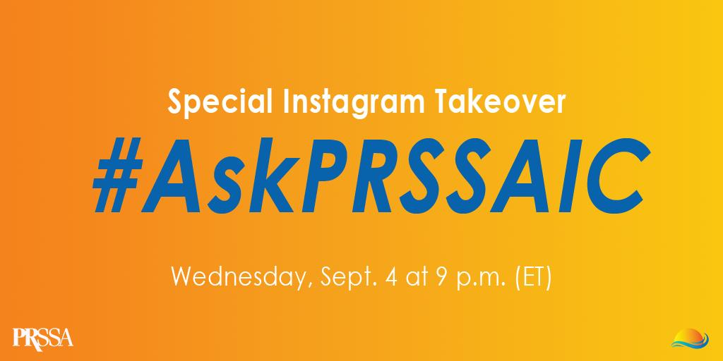 Is your Chapter attending or looking to attend #PRSSAIC this October? Get the inside scoop of what's in store for you during a special Instagram takeover with the @prssaic Committee! Tune in on Wednesday, Sept. 4 at 9 p.m. (ET)/6 p.m. (PT) and #AskPRSSAIC.
